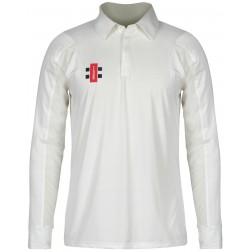 Bridgend Town CC L/S Junior Shirt