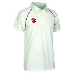 Gorseinon CC Gray - Nicolls Matrix S/S Shirt