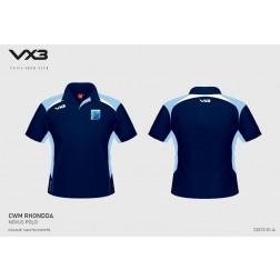 Cwm Rhondda VX3 Polo Shirt
