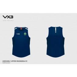 Upper Rhondda CC vest