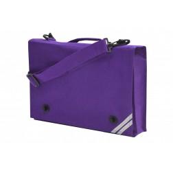 Purple document case